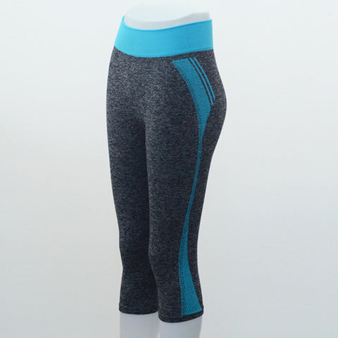 bae1c94b9c15f ... New style High Waist Stretched Women's Sports Pants Gym Clothes Spandex  Running Tights Women Sports Leggings ...