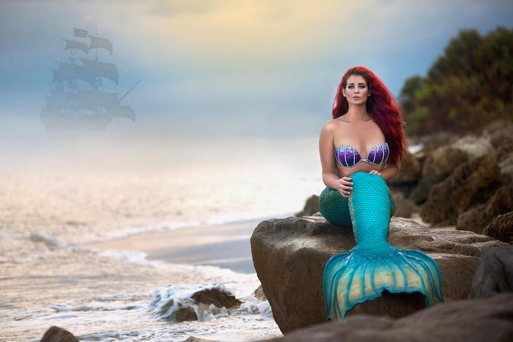 Mermaid Spotlight: Brandee Anthony the Vero Beach Mermaid