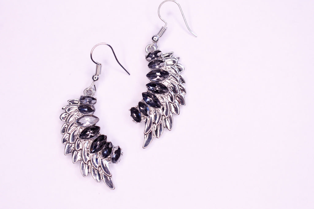 Athena Earrings (Mini with rhinestones)