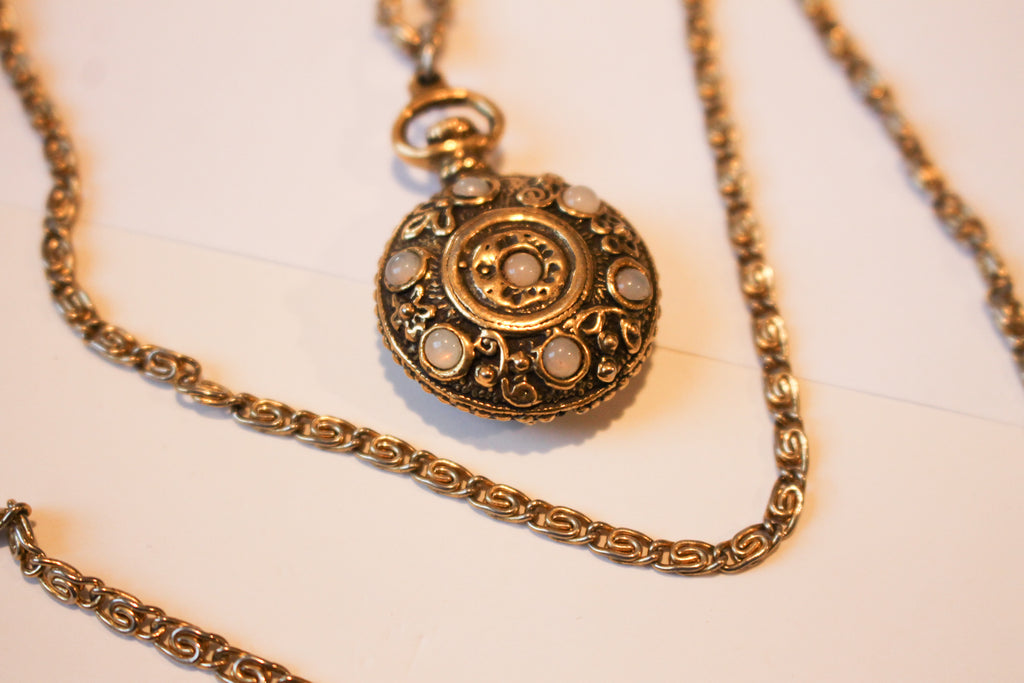 3 Drop Vintage Necklace