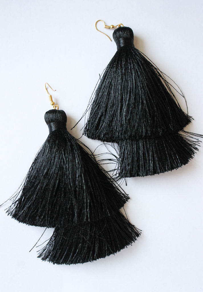 Biggie Tassel - Black