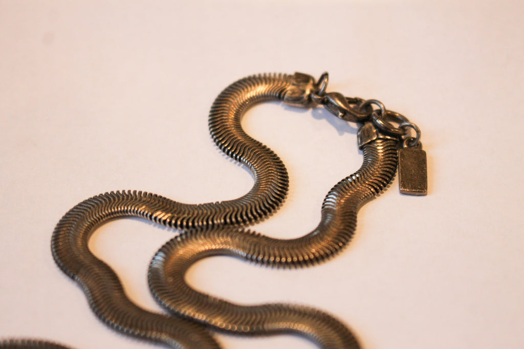 Vintage Snake Charmer on a Chain