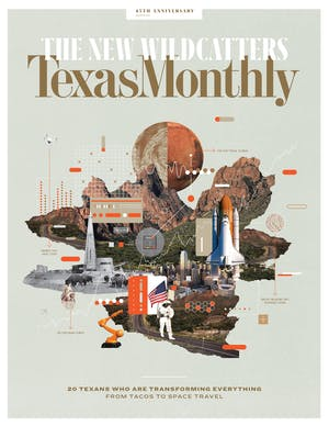 Cover of Texas Monthly February 2018