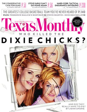 Cover of Texas Monthly April 2013
