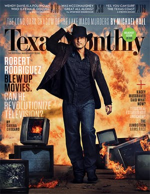 Cover of Texas Monthly April 2014