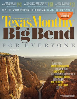 Cover of Texas Monthly May 2015