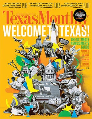Cover of Texas Monthly April 2015