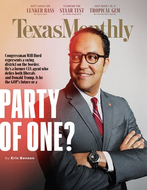 Cover of Texas Monthly April 2019