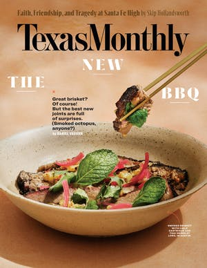 Cover of Texas Monthly May 2019