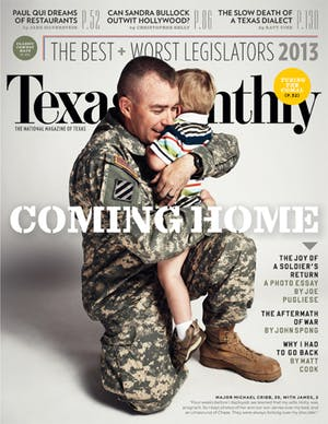 Cover of Texas Monthly July 2013
