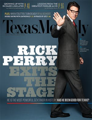 Cover of Texas Monthly July 2014