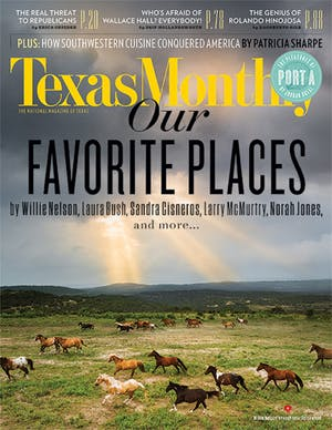 Cover of Texas Monthly August 2014
