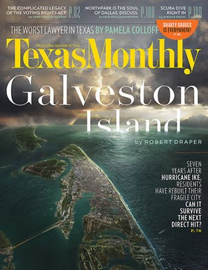 Cover of Texas Monthly August 2015