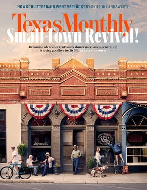 Cover of Texas Monthly August 2018