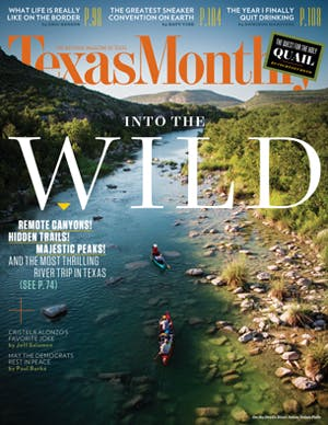 Cover of Texas Monthly October 2014