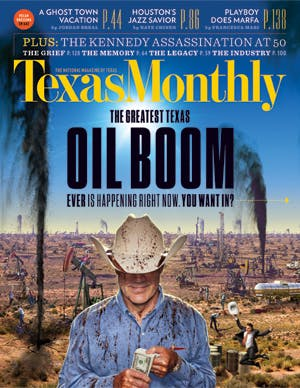 Cover of Texas Monthly November 2013