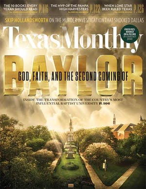 Cover of Texas Monthly November 2014
