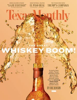 Cover of Texas Monthly November 2019