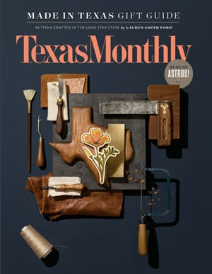 Cover of Texas Monthly December 2017