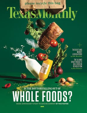 Cover of Texas Monthly July 2017