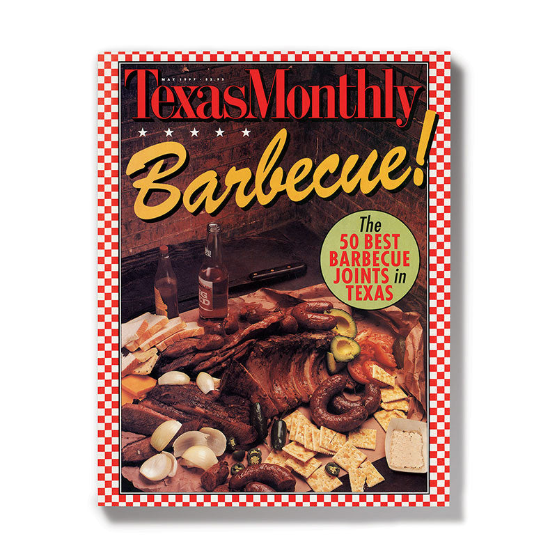 May 1997 Texas Monthly BBQ Cover