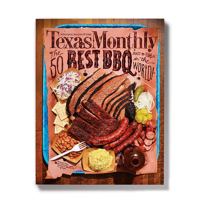 June 2013 Texas Monthly BBQ Cover