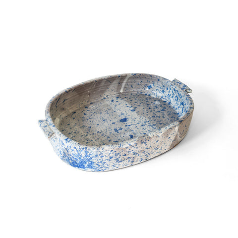 blue speckle hot dish