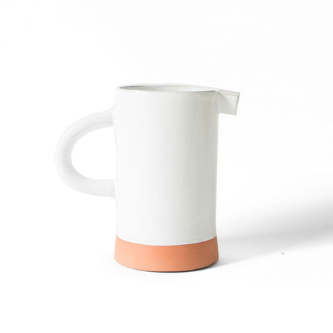 matte porcelain pitcher