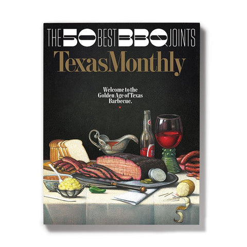 June 2017 Texas Monthly BBQ Cover