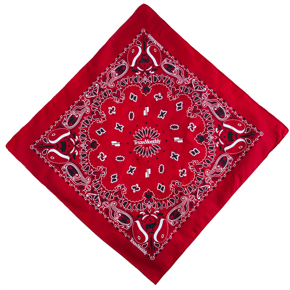 Texas Monthly Bandana