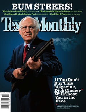 Cover of Texas Monthly January 2007