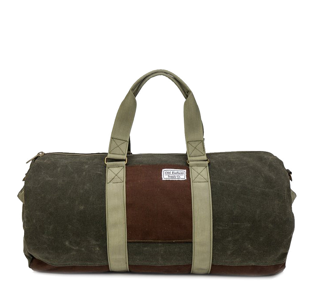 48-Hour Duffel Bag | Olive Green + Brown