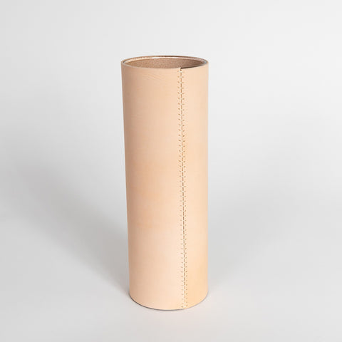 Leather Vase – Extra Tall