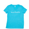 Texas Monthly V-Neck – Turquoise