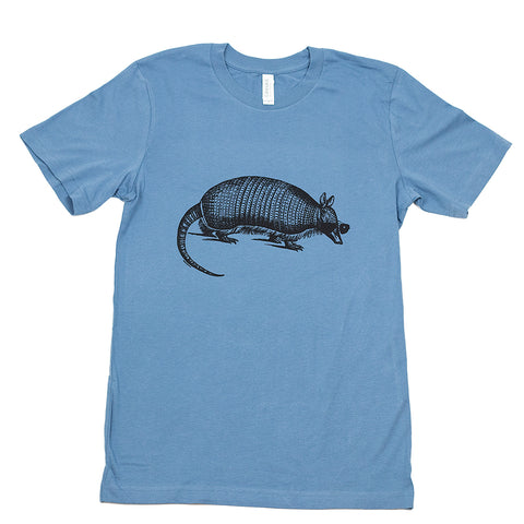 Cool Armadillo Tee - Blue