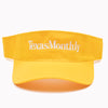Texas Monthly Visor - Yellow