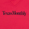 Texas Monthly V-Neck – Red