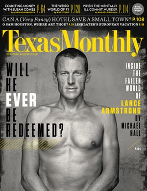 Cover of Texas Monthly March 2013