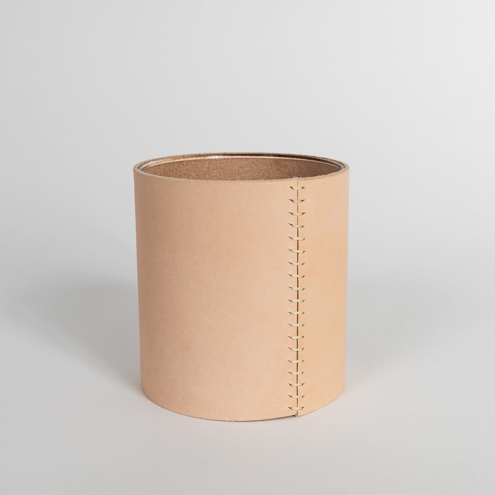 Leather Vase – Medium