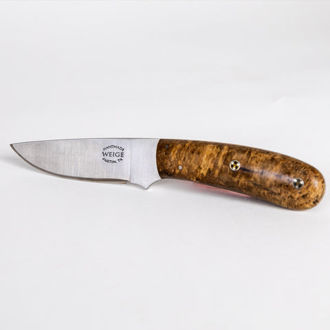 Weige Pecan Outdoorsman Knife