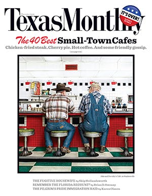 Cover of Texas Monthly December 2008