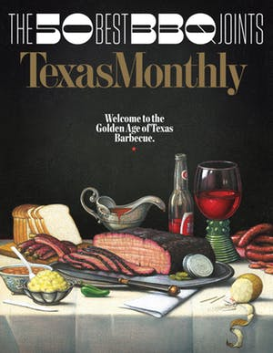 Cover of Texas Monthly June 2017