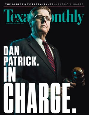 Cover of Texas Monthly February 2017