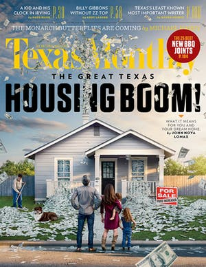 Cover of Texas Monthly November 2015