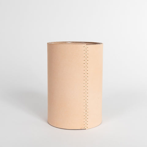 Leather Vase – Tall