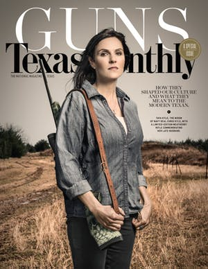 Cover of Texas Monthly April 2016