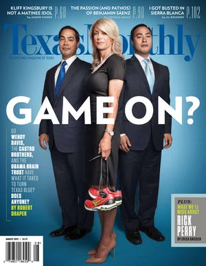 Cover of Texas Monthly August 2013