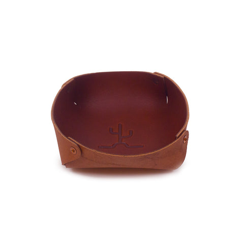 Flying Cactus Catchall – Brown