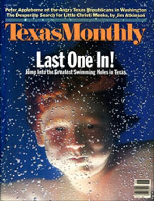 Cover of Texas Monthly June 1985