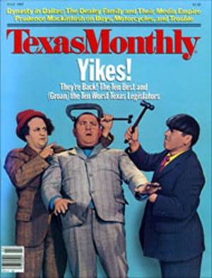 Cover of Texas Monthly July 1985